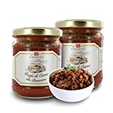 Brezzo ragú de carne de ternera piemontese | selección de salsas italianas para pasta | 180 gramos