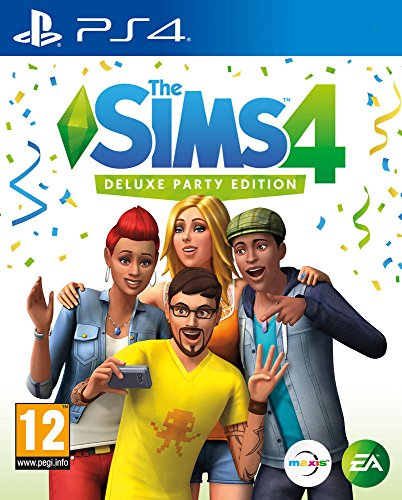 The Sims 4 Deluxe Party Edition (PS4) (New)