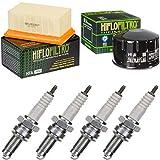 pamoto - Kit di manutenzione con filtro dell'aria, filtro dell'olio, candele di accensione R 1200 GS ABS 2010-2012