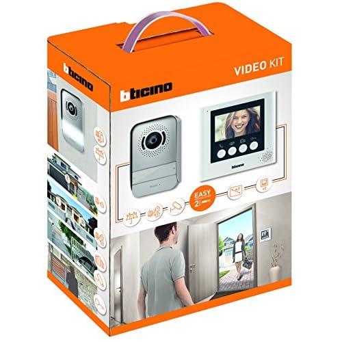 BTicino 316913 Kit Videocitofono 2 Fili, 4,3