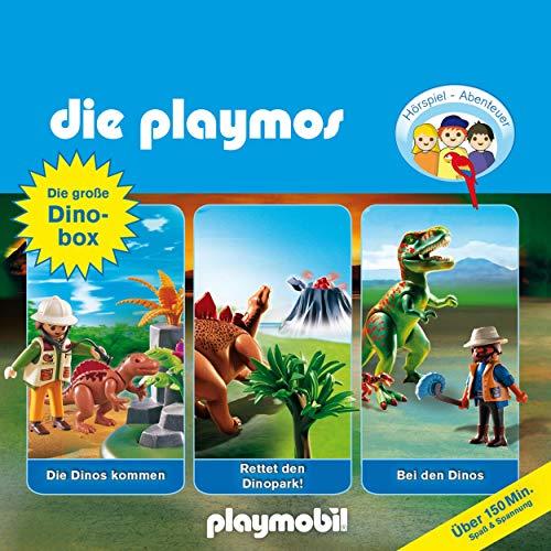 Die große Dino-Box. Das Original Playmobil Hörspiel Titelbild