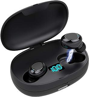 comprar comparacion Auriculares Bluetooth 5.0 de Hasta 50 Horas de Reproducción, Sonido Estéreo de Graves Profundos, Cancelación de Ruido Avan...