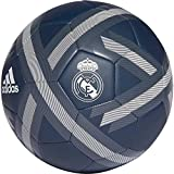 adidas Real Madrid Ballon de football Pour Hommes, Tech Bold Onix/White, 5,grisTech Onix/Bold Onix/White,5