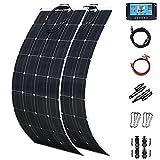 Solar Panels 2 X 300 Watt PET Flexible Solar Panel 600 Watt...