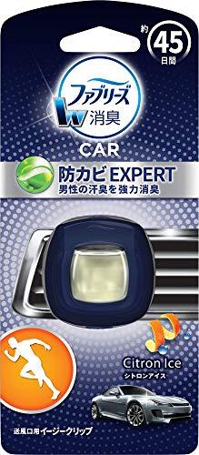ファブリーズ 消臭芳香剤 車用 クリップ型 イージークリップ 防カビエキスパート シトロンアイス 2.2mL