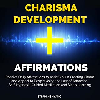 Charisma Development Affirmations audiobook cover art