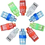 Syolee LED Finger Lights 20pcs Super Bright Finger Flashlight Ideal for Toys Party