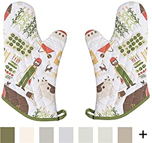 Now Designs Basic Oven Mitts, Set of Two
