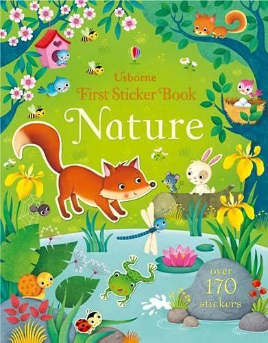 Brooks, F: First Sticker Book Nature (First Sticker Books series)