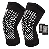 Self Heating Knee Brace, Self Heating Warm Tourmaline Belts, Magnetic Knee Pad For Men and Women, Knee Support Brace Compression Sleeve,for Joint Pain Relief, Recovery, Running, Gym, Sports, Skiing.