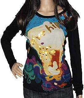 Desigual T-Shirt Long Sleeve Woman Ts Orinoco 19SWTKAC