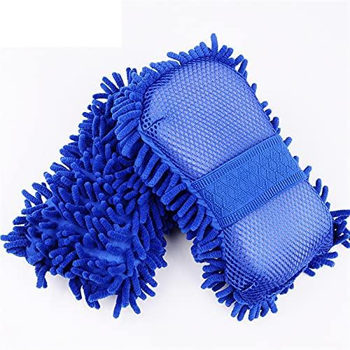 Lixiaonmkop Auto Reinigungsbürste Reiniger Werkzeuge Mikrofaser Super sauber Autofenster Reinigung Schwamm Produkt Tuch Handtuch Waschhandschuhe Auto Waschmaschine