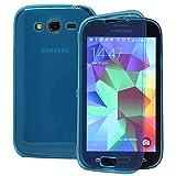VComp-Shop® - Custodia protettiva in silicone per Samsung Galaxy Grand Plus/ Neo/Lite, colore: Blu chiaro