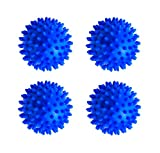 [page_title]-rosepartyh Trocknerbälle Waschball für Waschmaschine Waschkugel Dryer Laundry Washing Balls Mineralkugeln BPA frei Allergikerfreundlich Dekontamination Wiederverwendbare PVC 4 Pcs