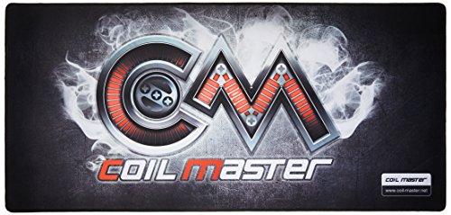 Coil Master, tappetino per rigenerazione di sigaretta elettronica, stile PC gaming, per la copertura della scrivania, codice prodotto: RDA DYI V2