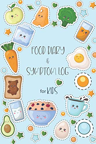 Food Dairy and Symptom Log : A Journal for the food intake – Food symptom tracker for allergy kids
