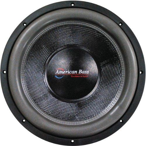 American Bass Hd18d2 18 3000w Car Audio Subwoofer Sub 3000 Watt