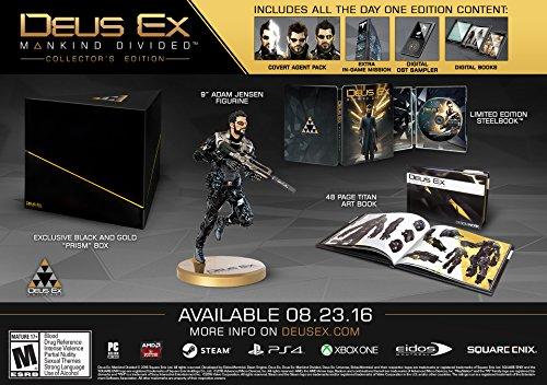 Jogo Deus Ex: Mankind Divided (collector's Edition) - Ps4