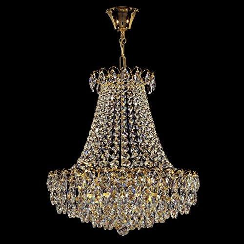 Kolarz kroonluchter Empire 24 karaat goud handwerk, Made in Italy, Made in Italy, Made with SWAROVSKI SPECTRA