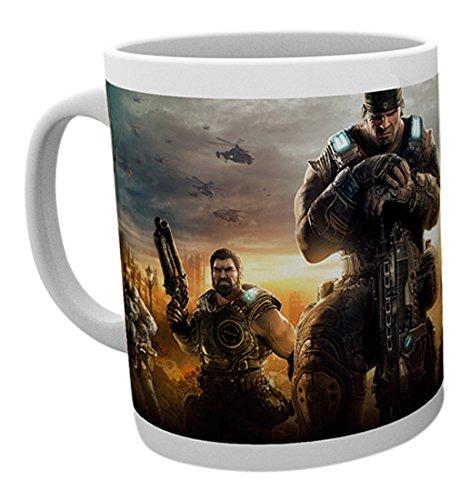 GB Eye LTD, Gears of War, Key Art 3, Taza de Ceramica