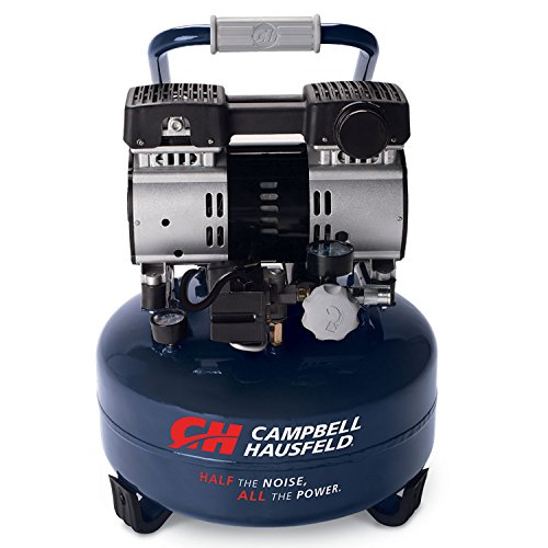 Campbell Hausfeld 6 Gallon Portable Quiet Air Compressor...
