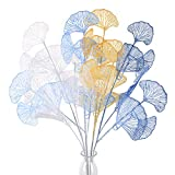 XHXSTORE 4PCS Bouquet Fleurs Artificielles Vase Fleur Artificielle Extérieur Intérieur en Plastique pour Table Maison Balcon DIY Chambre