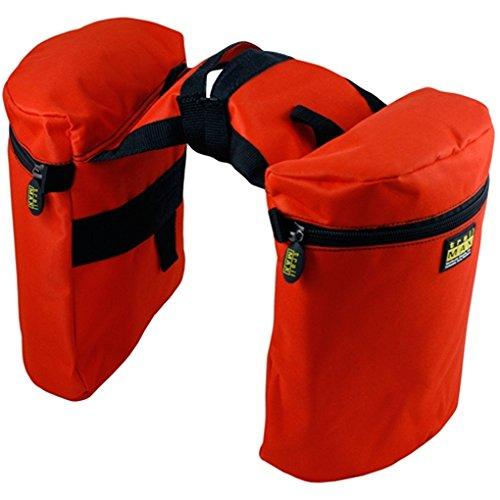 Trailmax Original - Alforjas para silla con cuerno - Equipaje para silla vaquera de cowboy - Naranja