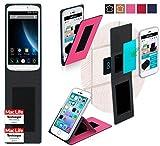 reboon Hülle für Doogee X6 Pro Tasche Cover Case Bumper | Pink | Testsieger