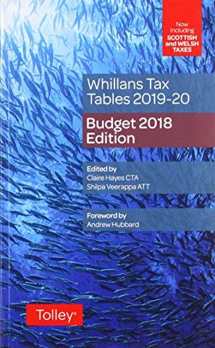 Whillans's Tax Tables 2019-20 (Budget edition)