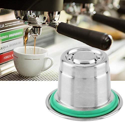 Nieuwe roestvrijstalen navulbare koffiecapsules, herbruikbare koffiepads Kits Compatibel met Nespresso koffiemachine