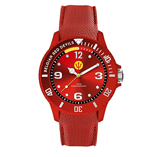 Ice-Watch RED DEVILS rood herenhorloge met siliconen armband rood 016099 (medium)