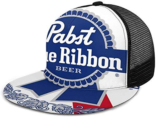 NA Pabst Blauw Lint Bier Logo Verstelbare Cowboy Denim Hoed Unisex Hip Hop Baseball Caps