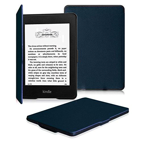 Fintie for Kindle Paperwhite ケース 超薄 軽量 保護カバー オートスリープ機能付き