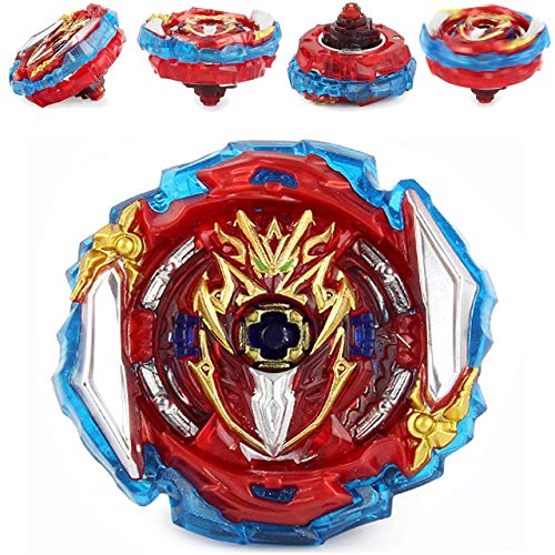 Mopogool Battling Tops Toy Evolution Blades Turbo God Bey Game Accessories Bey Burst Gaming Toy SuperKing B-173 Infinite Achilles Dm'1B High Performance 4D Spinning Top Battle Gyro Gift for Boys Teens