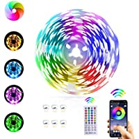 ESEYE 16.4 ft Music Led Strip Lights with Bluetooth APP Control