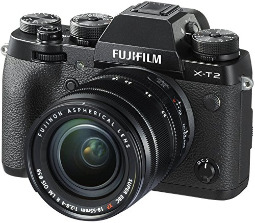 Fujifilm X-T2 Mirrorless Digital Camera with...