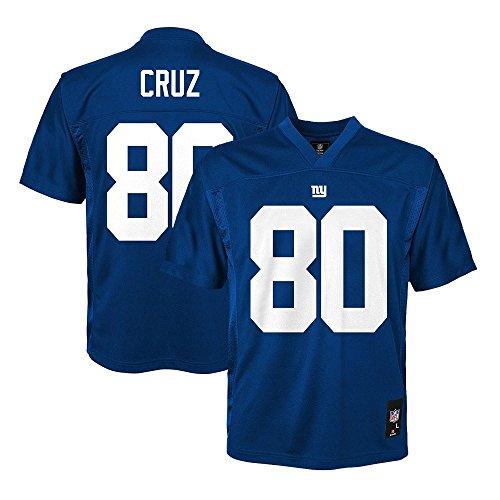 Victor Cruz NFL Kids 4-7 Jersey: Home Blue #80 New York Giants Jersey