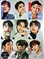 PENTAGON ペンタゴン グッズ / A3 ポスター 12枚 + ステッカー シール 1枚セット - A3 Size Poster 12sheets + Sticker 1sheet [TradePlace K-POP 韓国製]