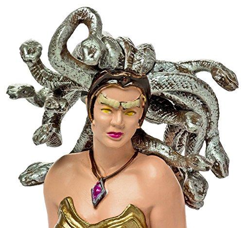 PHANTASTISCHE & MYTHOLOGIE Figuren aus Kunststoff: Auswahl verschiedener Motive (2 - Medusa)