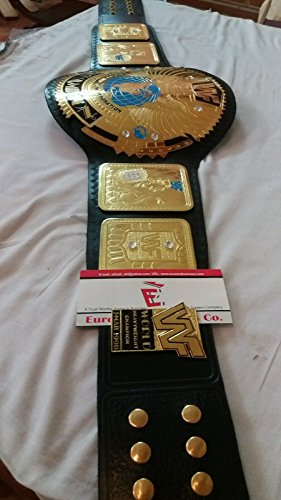 Replica Attitude Big Era Eagle Championship Wrestling Adult Belt with Bag