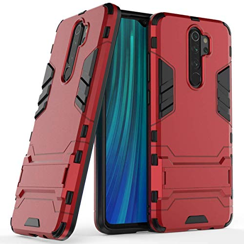 Max Power Digital Funda para Xiaomi Redmi Note 8 Pro (6,53') con Soporte - Carcasa Híbrida Antigolpes Resistente (Xiaomi...