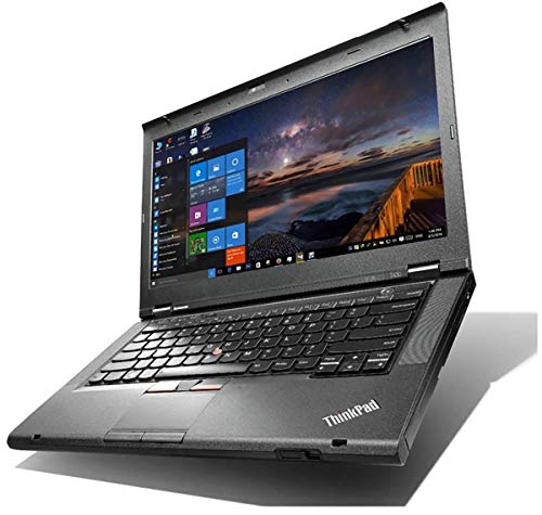 (Renewed) Lenovo T430s (Slim) Thinkpad 14 Inch Screen Laptop (Intel Core i5 - 3320m /8 GB/500 GB HDD/Windows 10 Pro), Black