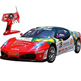 Kikioo 1:12 Graffiti RC eléctrico Coche 4x4 RTR 2.4 Ghz Control remoto Racing Grand Drift Todo terre...