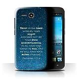 Hülle Für Huawei Ascend Y600 Christliche Bibel Vers Trust