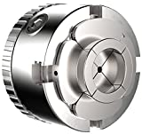 """Easy Wood Tools C2000 1-1/4"""" x 8 TPI Threads Wood Turning Lathe Quick Change 4 Jaw Chuck with Zoom Ring, Snap Lock Technology and Stainless Steel Chucking Screw"""