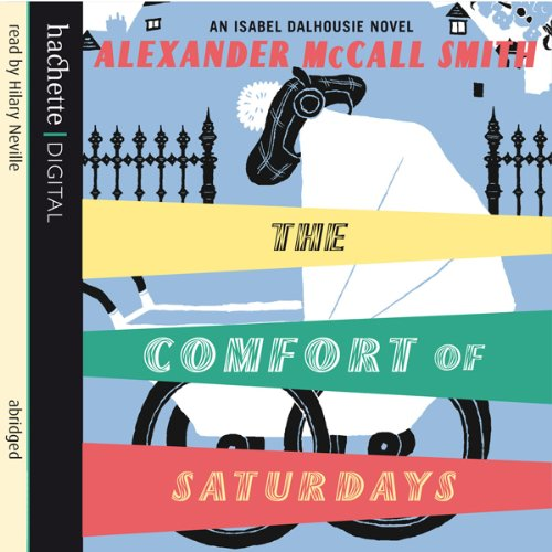 The Comfort of Saturdays audiobook cover art
