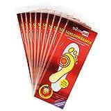 10 Paar THERMOPAD Sohlenwärmer S (Gr. 36-40) SELBSTKLEBEND - bis zu 8 Stunden Wärmedauer - EXTRA WARM - Wärmesohle / Schuhheizung / Wärmepad / Größe S (Gr. 36-40)