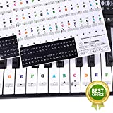 Sparta's Store keyboard aufkleber,klavier aufkleber kinder,piano stickers for keys,Keyboard Noten...