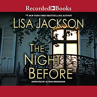 The Night Before audiobook cover art