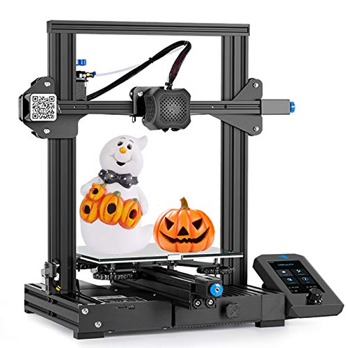 Kosiy Creality Ender 3 3D Printer DIY Kit Fully Open Source with Resume Printing Function All Metal Frame FDM DIY Printers for Beginner